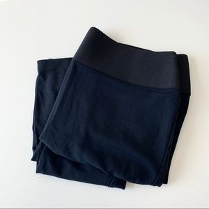 NY&Co New York & Co black ponte' pant / leggings